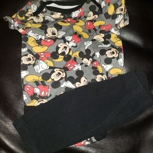 ⭐4/25⭐Disney's Mickey Mouse Infant Outfit
